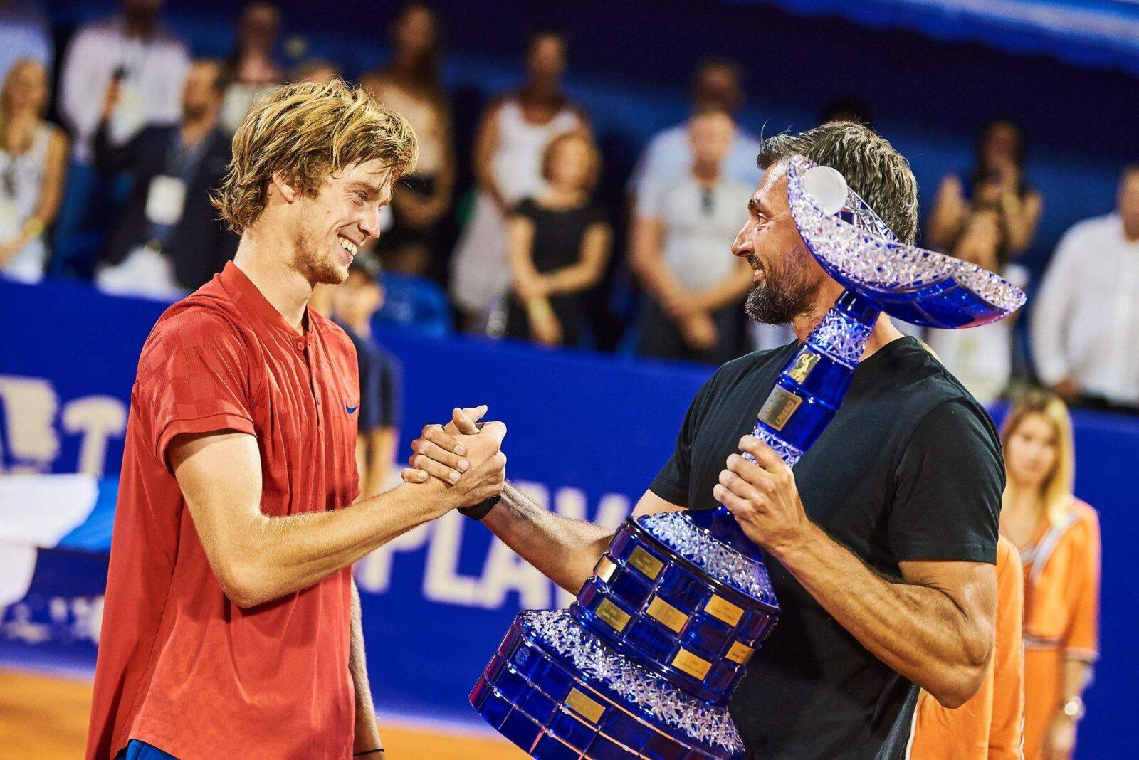 Рублёв выиграл крупный турнир в Германии
