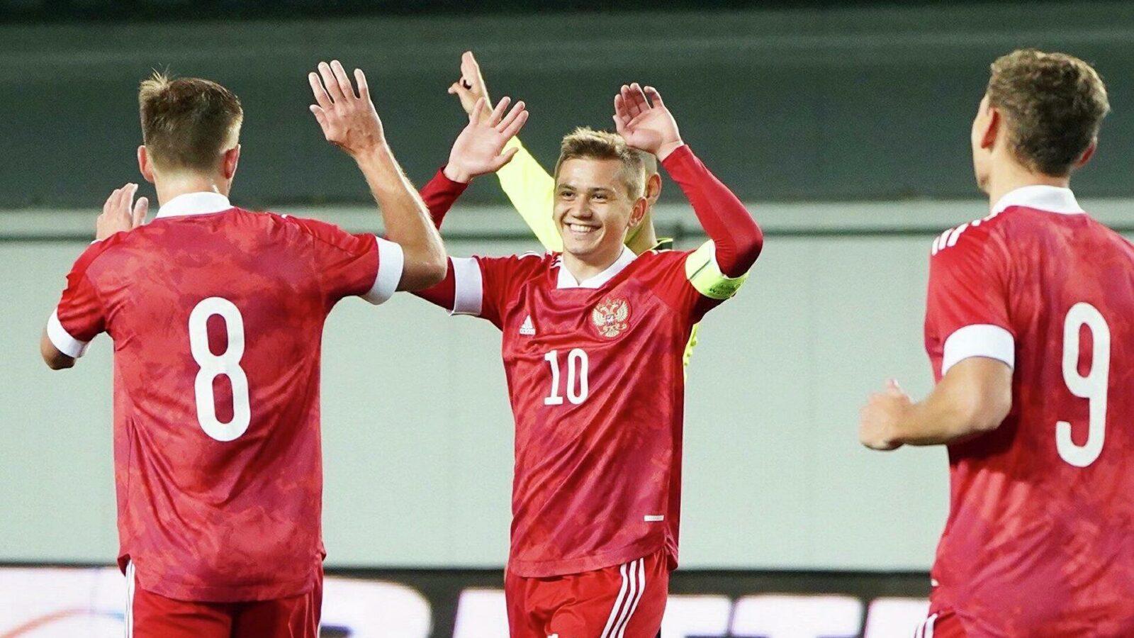 Молодёжная сборная России вышла на чемпионат Европы-2021
