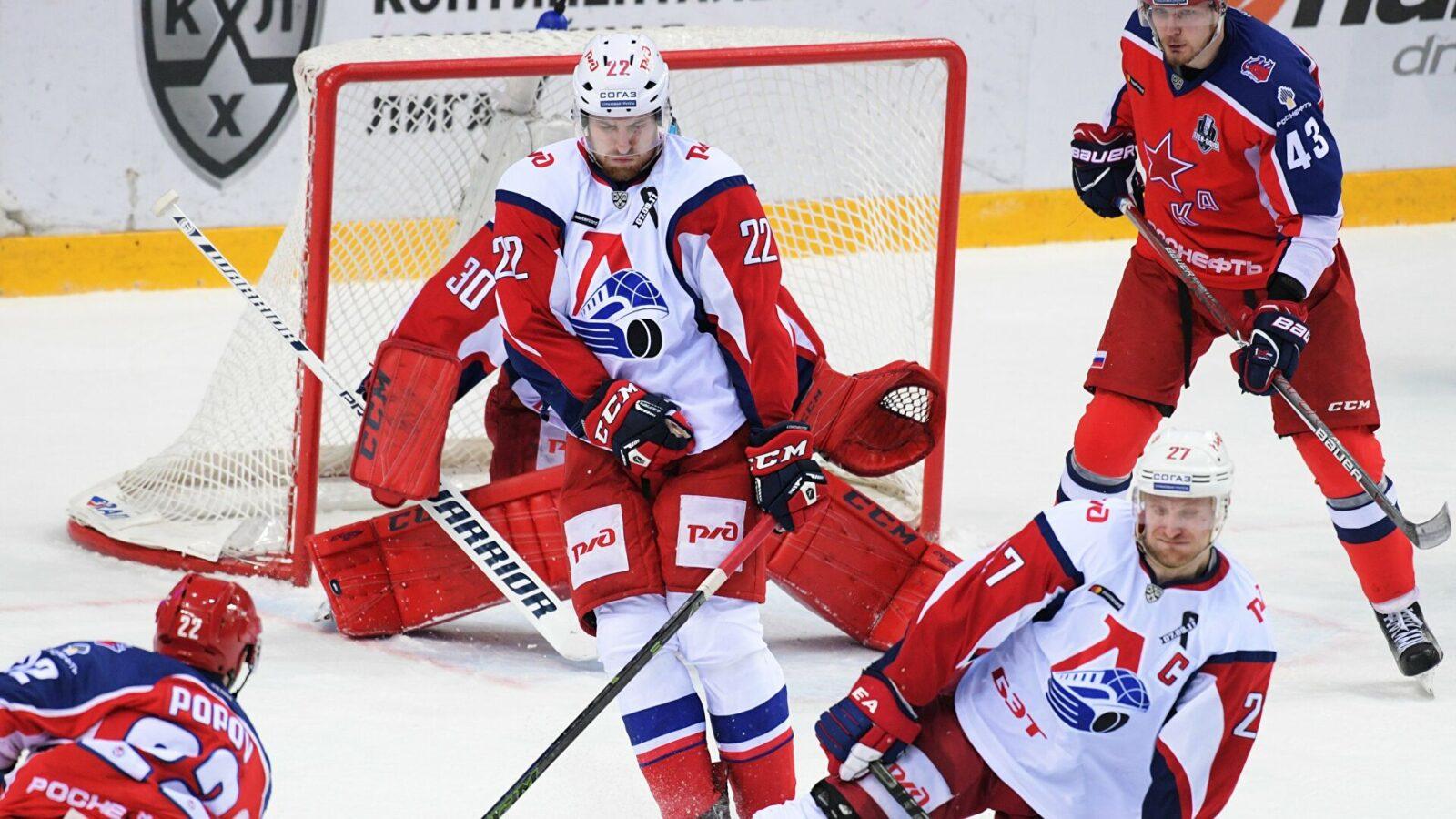 ЦСКА оказался сильнее Локомотива в битве фаворитов КХЛ